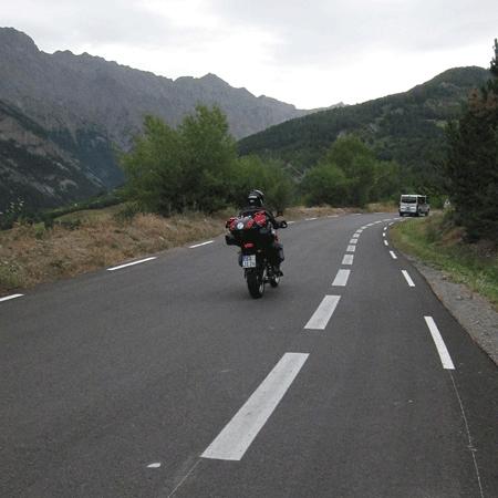 Bonette, chemin