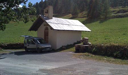 Parpaillon chapelle ste anne