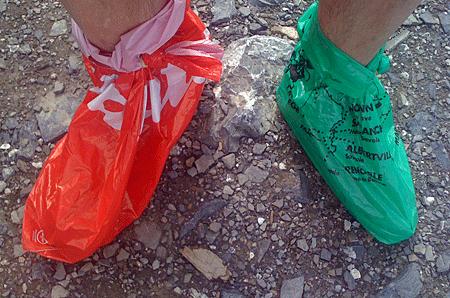 Parpaillon pieds sacs