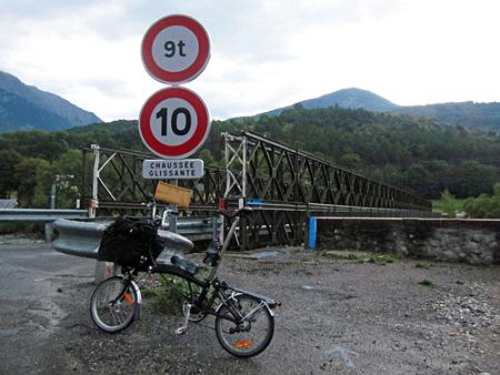 Parpaillon pont durance