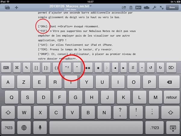 Hyper facile de vous mettre aux notes de bas de page…