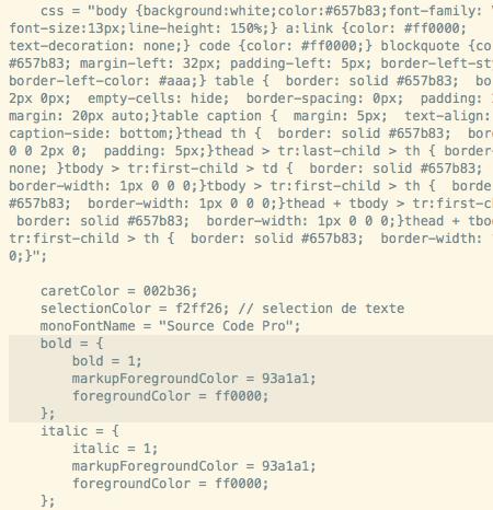 Du code, quoi…!